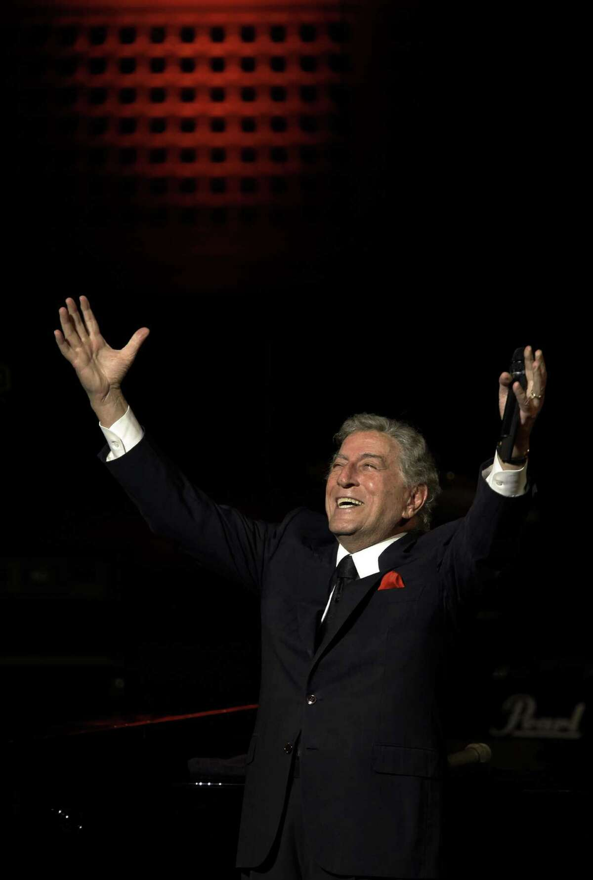 Tony Bennett, photo by Michael Macor / San Francisco Chronicle.