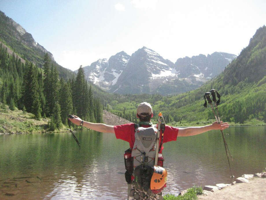 Robert Jansen loved adventure, particularly rock climbing, and being surrounded by nature. Jansen, a graduate of New Canaan High school in 2007, died Saturday, Aug. 25, from injuries he sustained in a rock slide near Hagerman Peak in Colorado. Photo: Contributed