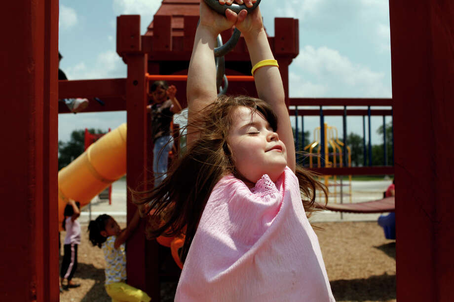 With children returning to school -- and school playgrounds -- teachers and parents must be careful about ensuring that the children are safe. Photo: LISA KRANTZ, SAN ANTONIO EXPRESS-NEWS / lkrantz@express-news.net