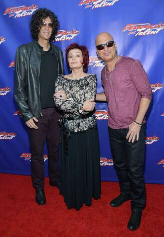 "NEWARK, NJ - FILE:  (L-R) Howard Stern, Sharon Osbourne, and Howie Mandel ""America's Got Talent"" Live Show at New Jersey Performing Arts Center on July 2, 2012 in Newark, New Jersey. Osbourne will not be returning for another season of the show according to reports on August 6, 2012. Photo: Mike Coppola, Getty Images / 2012 Getty Images"