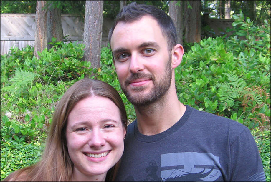 Tim Bailey and his wife, Whitney
