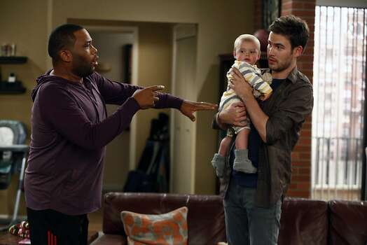 "NBC's ""Guys With Kids."" Photo: Vivian Zink, NBC"