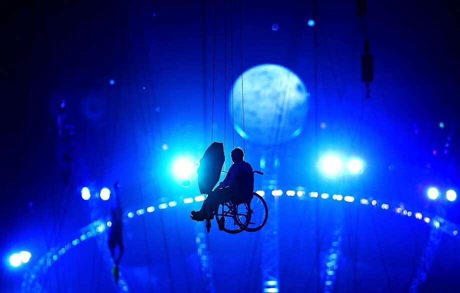 Miranda performs during the Opening Ceremony of the London 2012 Paralympics at the Olympic Stadium on August 29, 2012 in London, England.  Photo: Mike Ehrmann, Getty Images