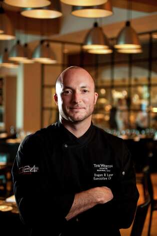 Grille 024 executive chef Dagan Lynn. Photographed, Wednesday, Aug. 22, 2012, in Houston.  ( Nick de la Torre / Houston Chronicle ) Photo: Nick De La Torre / © 2012  Houston Chronicle