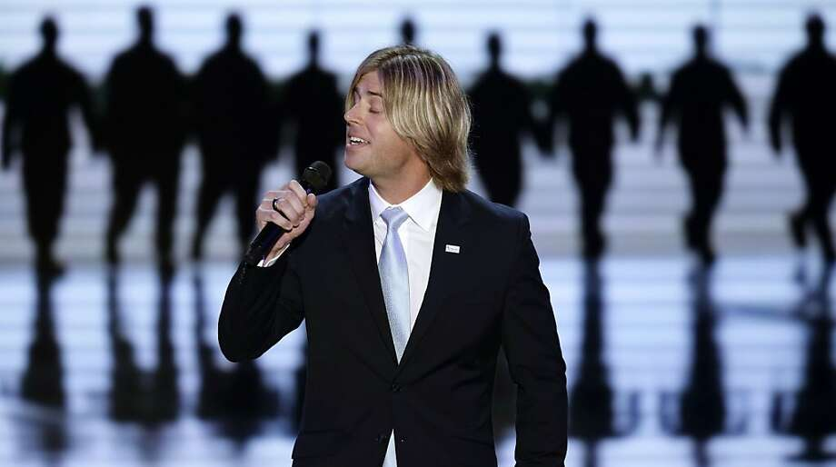 Beau Davidson performs during the Republican National Convention in Tampa, Fla., on Wednesday, Aug. 29, 2012. (AP Photo/J. Scott Applewhite) Photo: J. Scott Applewhite, Associated Press