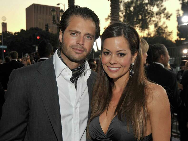 Oh, the perks of being a TV lifeguard. Charvet married Brooke Burke, model and co-host of