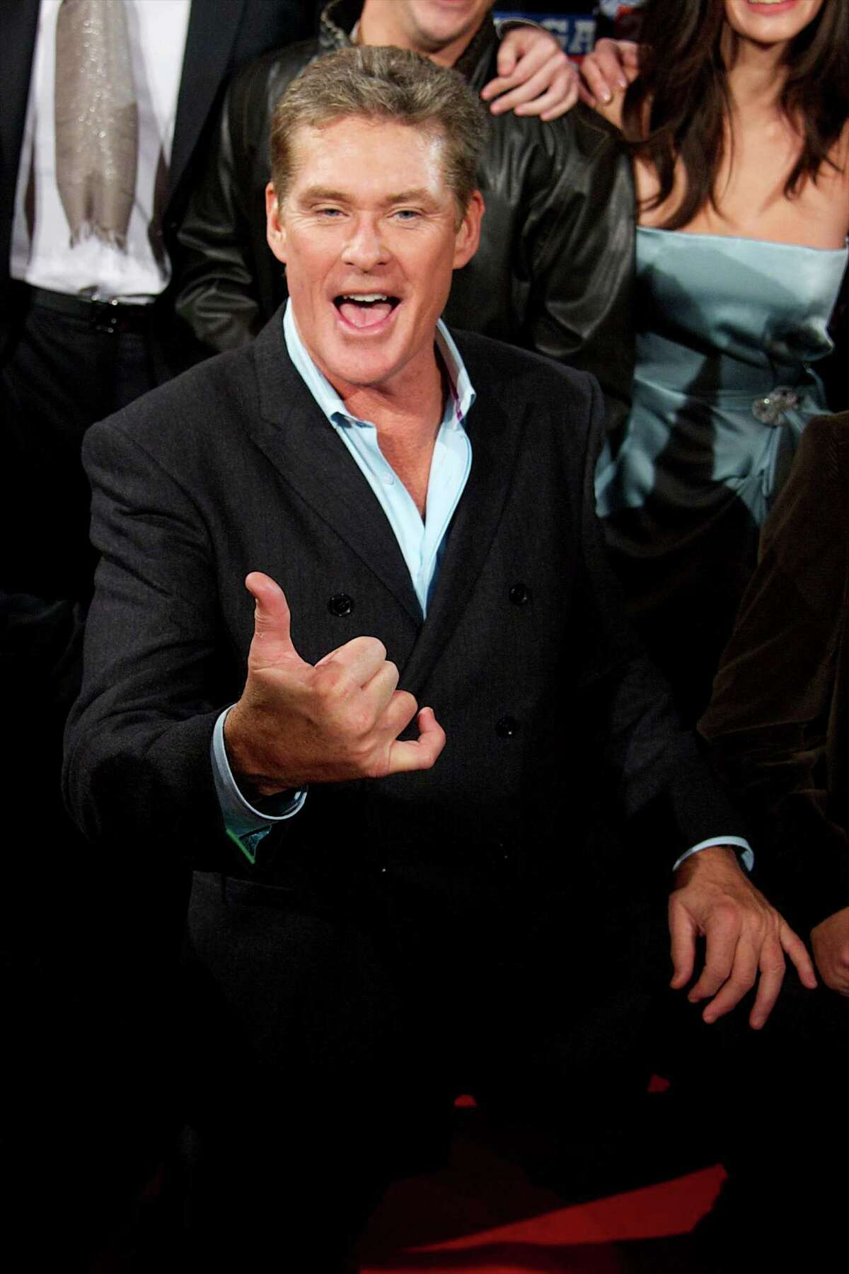 Hasselhoff has confirmed that he will make a cameo as himself in a new Baywatch movie under production. (This photo was taken on Nov. 24, 2011.)
