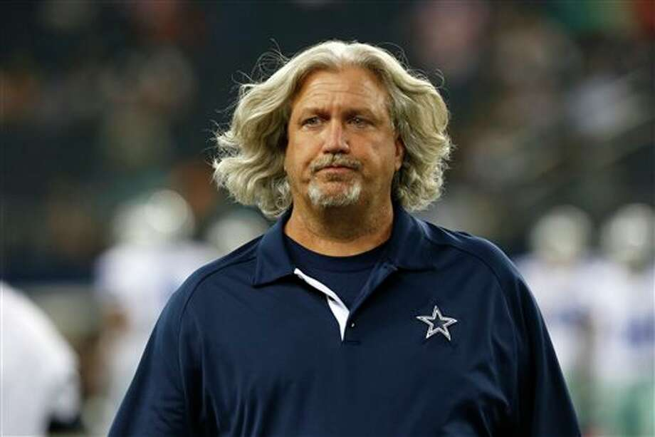 Dallas Cowboys defensive coordinator Rob Ryan before a preseason NFL football game against the Miami Dolphins, Wednesday, Aug. 29, 2012 in Arlington, Texas (AP Photo/Sharon Ellman) Photo: Sharon Ellman, Associated Press / FR170032 AP