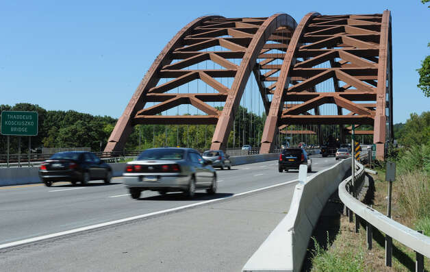 Traffic goes over the twin bridges on Wednesday, Aug. 29, 2012 in Halfmoon, N.Y. (Lori Van Buren / Times Union) Photo: Lori Van Buren