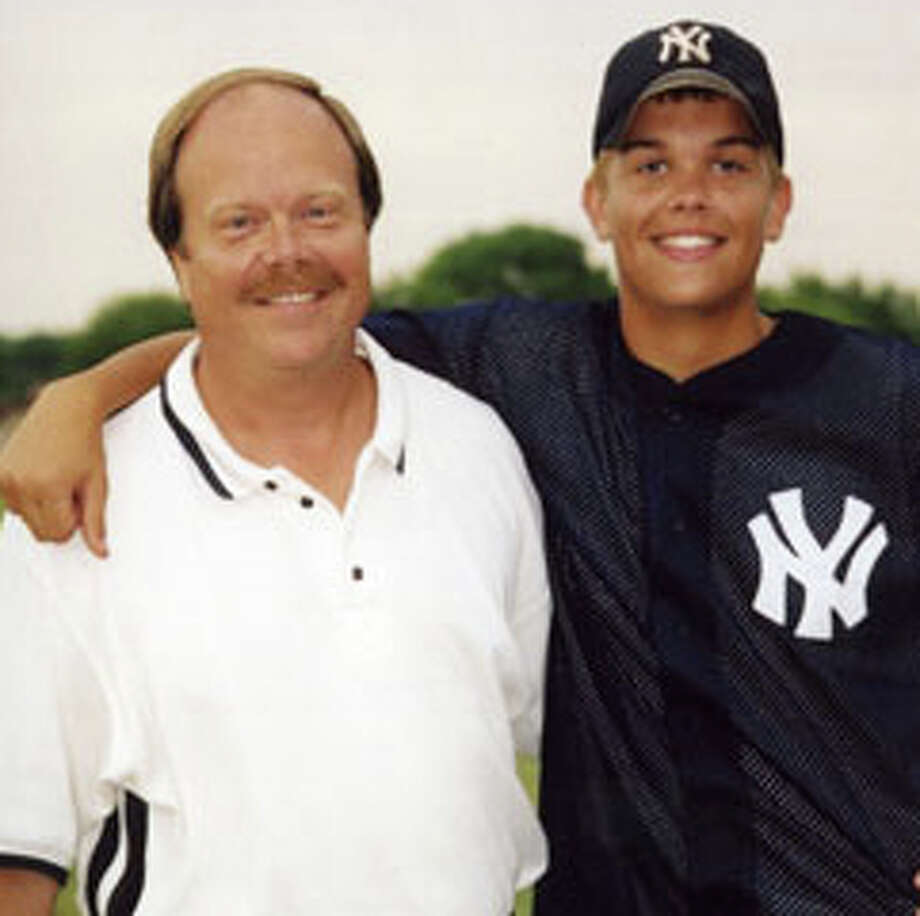 Don Hooton, left, started the Taylor Hooton Foundation in memory of his son Taylor, right, who committed suicide as a result of the use of anabolic steroids. Photo: Contributed Photo