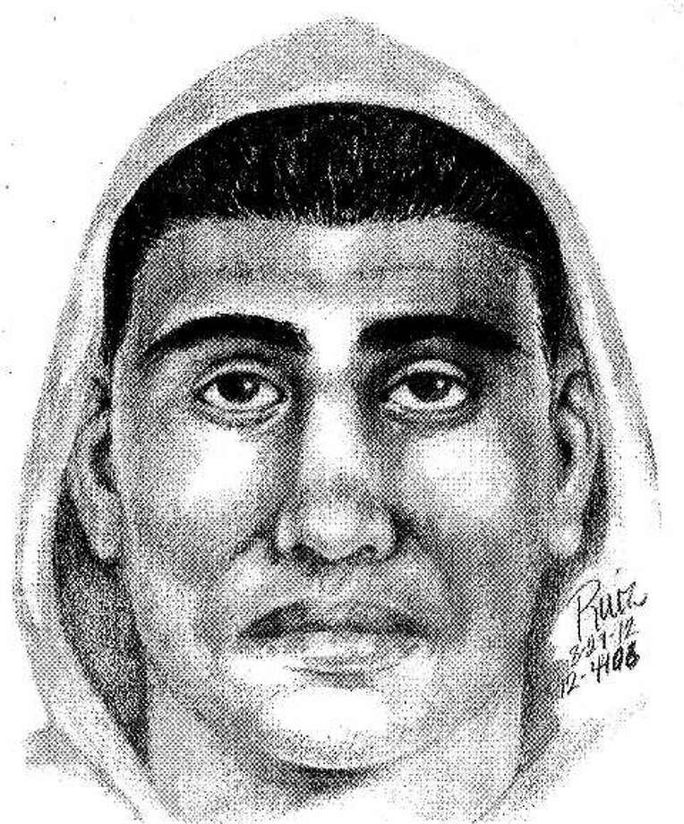 A sketch of the suspect from the Aug. 29 incident. Photo: Courtesy, Palo Alto Police