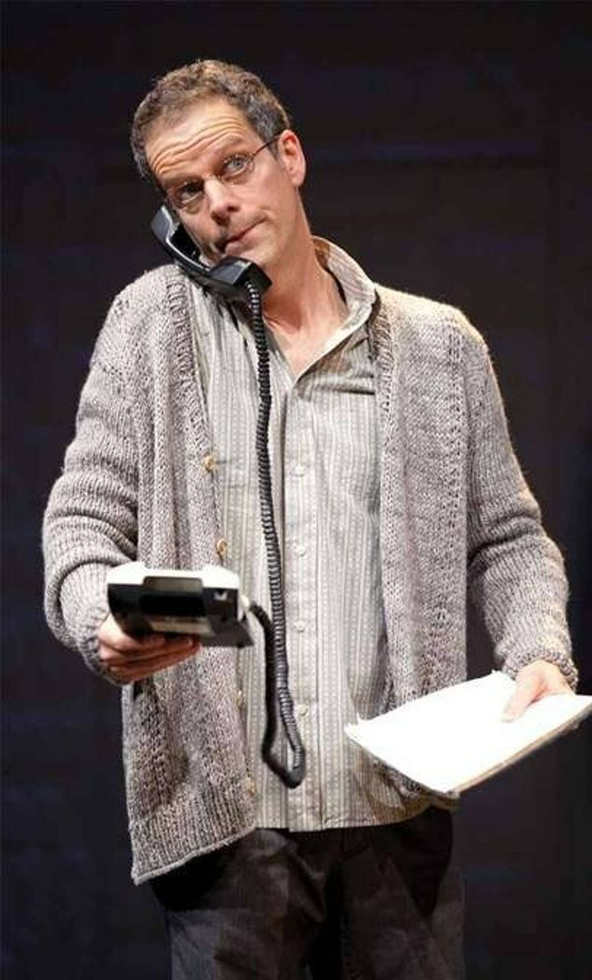 Patrick Breen plays Ned Weeks in Larry Kramer's The Normal Heart at the American Conservatory Theater through Oct. 7. Photo by Scott Suchman