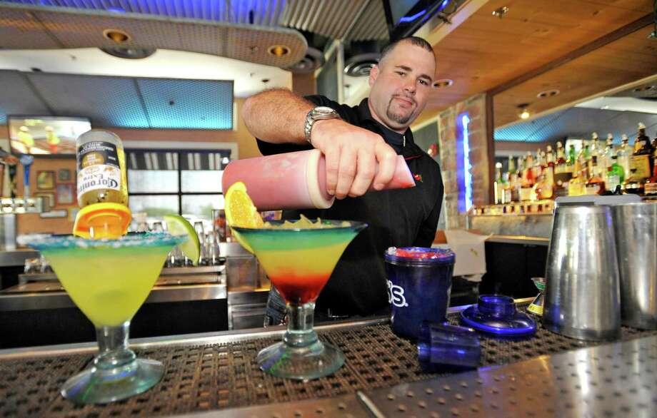 Drew Bohn at Chili's in Orange is Aug. 30 bartender of the week. Dave Ryan/The Enterprise