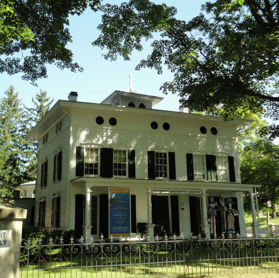 The Victorian Italianate Bradley-Wheeler House on Avery Place, home of the Westport Historical Society, is the subject of study designed to ensure its preservation in years to come. Photo: Meg Barone / Westport News freelance