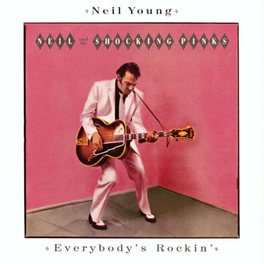 "Neil Young and the Shocking Pinks, ""Everybody's Rockin'"" (1983): The wonderful thing about Neil Young is that he always does whatever he pleases. The only drawback is it results in albums like this horrible rockabilly folly."