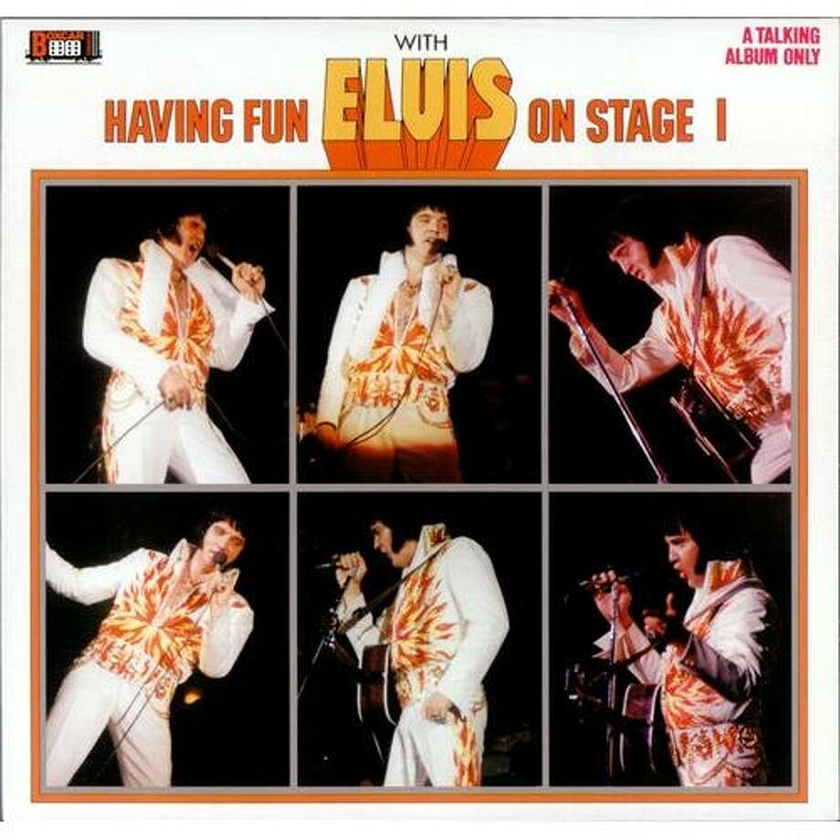 "Elvis Presley, ""Having Fun with Elvis on Stage"" (1974): Even by the King's relatively liberal standards, this one is a doozy. It's a live album with no actual music -- just a compilation of Elvis talking between songs."