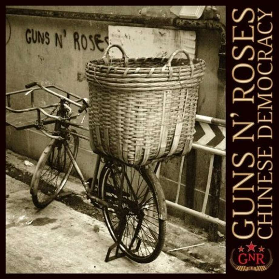"Guns N' Roses, ""Chinese Democracy"" (2008): It took 15 years, $13-million and countless guitarists with KFC buckets on their heads to make. The worst part is it sounds like it."