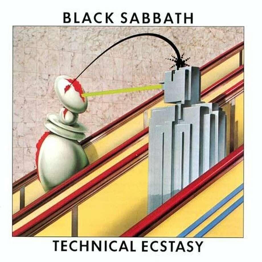 "Black Sabbath, ""Technical Ecstasy"" (1976): New t-shirt slogan: Don't Listen To Black Sabbath."