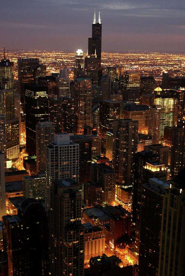 Chicago: A room in Chicago will be $30 more than usual at $213 a night. Photo: Scott Olson, Getty Images / 2008 Getty Images