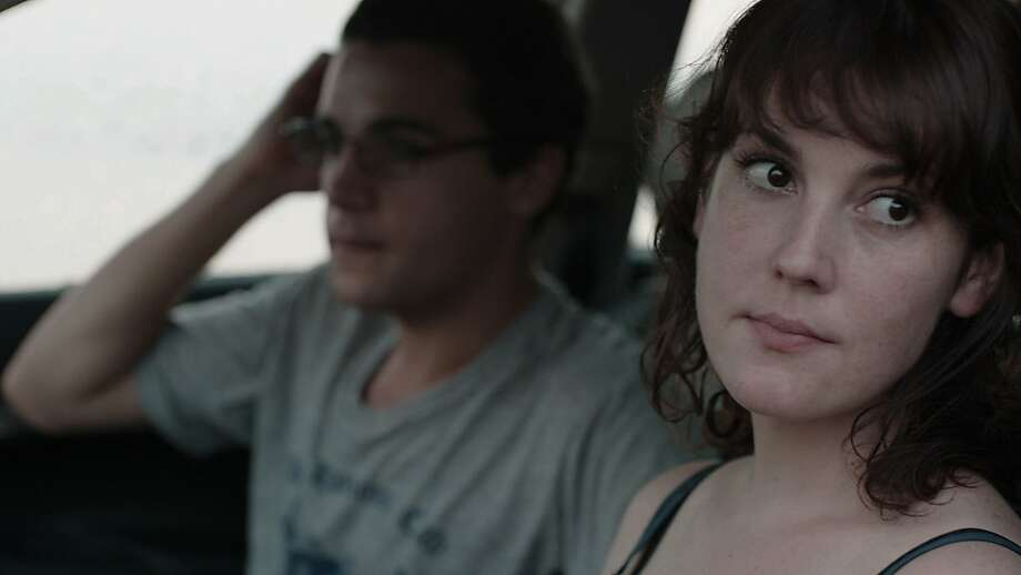 Christopher Abbott and Melanie Lynskey in HELLO I MUST BE GOING.  Courtesy of Oscilloscope Laboratories. Photo: Oscilloscope Labratories