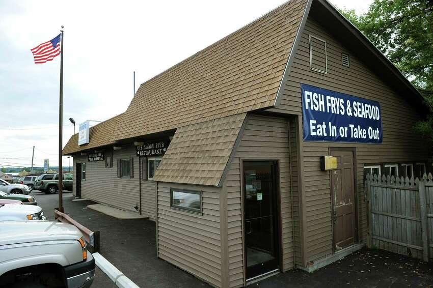 Off Shore Pier Restaurant on Tuesday, Aug. 28, 2012, in East Greenbush, N.Y. (Cindy Schultz / Times Union)