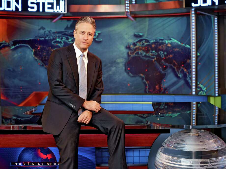 """Research into TV viewing habits finds that those defined as """"super Democrats"""" were more likely to be watching """"The Daily Show with Jon Stewart,"""" left, while conservative Republicans tend to favor watching appraiser Lark Mason on """"Antiques Roadshow."""" The study is intended to help candidates reach target audiences. Photo: Martin Crook / Comedy Central"""