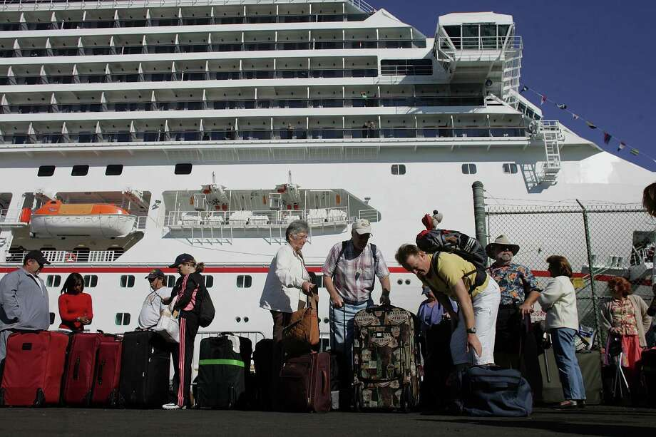 Was the culprit norovirus, a common food-borne illness often associated with cruise ships? Norovirus was also the bug behind 200 illnesses at an Everett cheerleading event this year. Photo: Joe Raedle, Getty Images / 2006 Getty Images