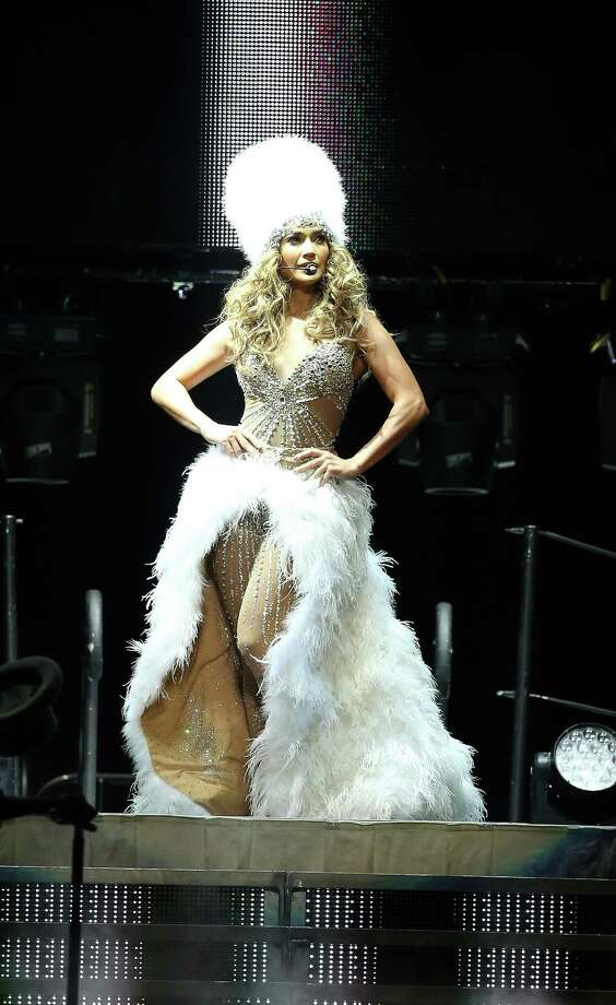 Lopez took the stage in true diva fashion. Photo: Karen Warren / © 2012  Houston Chronicle