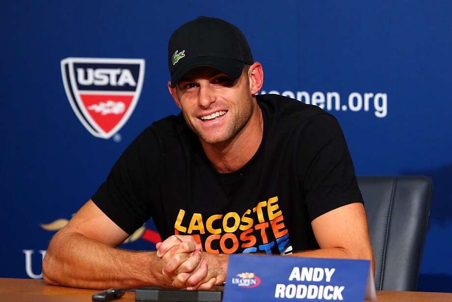 Andy Roddick is the last American man to win a Grand Slam singles title. Photo: Michael Heiman, Getty Images