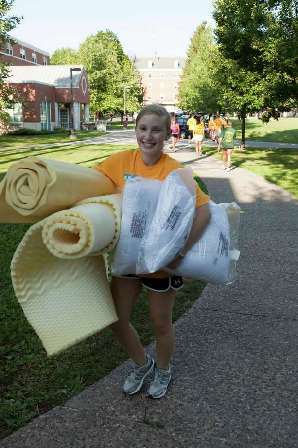 Were you Seen at Freshmen Move In Day at Siena College on Thursday, August 30, 2012? Photo: Purificato Photos, Tony Purificato / copyright 2012