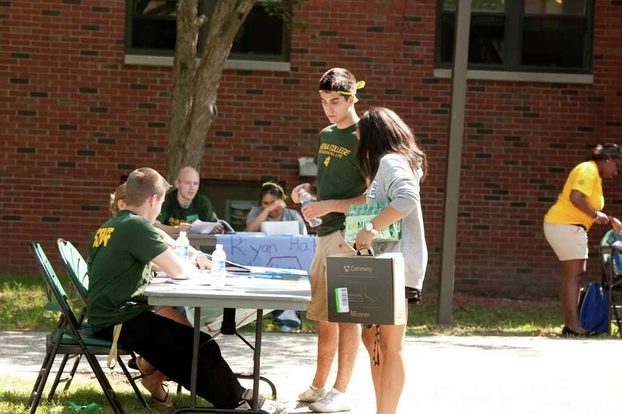 Were you Seen at Freshmen Move In Day at Siena College on Thursday, August 30, 2012?