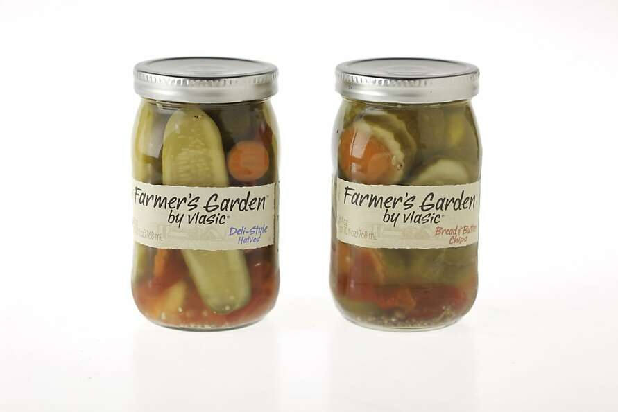 Vlasic Farmers Garden Pickles as seen in San Francisco, California, Wednesday, July 18, 2012.