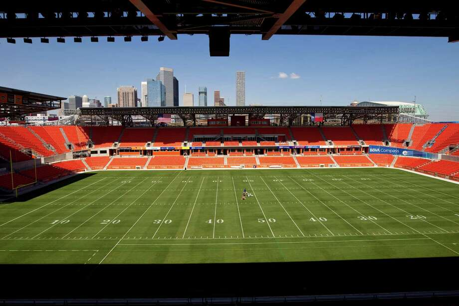 BBVA Compass Stadium will be one of 13 sites for the Gold Cup. Photo: Nick De La Torre, Houston Chronicle / © 2012  Houston Chronicle