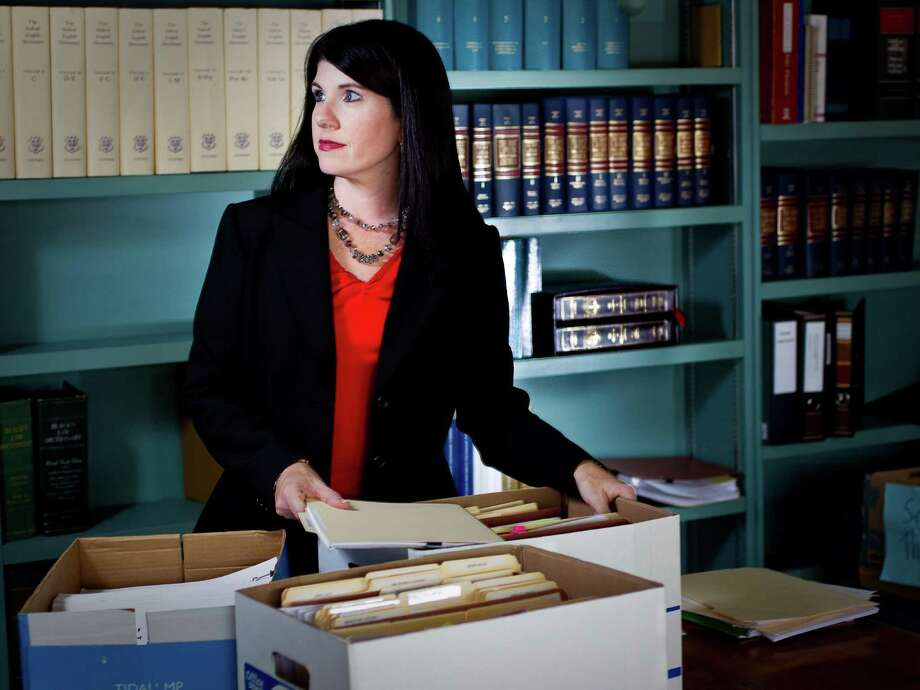Lisa Andrews shone a light on the incompetence of the Harris County Probation Department, with an investigation she pursued in the wee hours of the night. Photo: Nick De La Torre / © 2012  Houston Chronicle