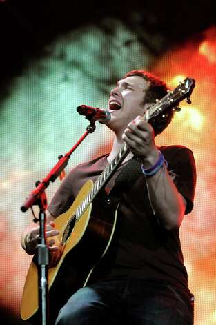 "Phillip Phillips during the ""American Idol Live Tour 2012"" on Thursday, Aug. 30, 2012, at Times Union Center in Albany, N.Y. (Cindy Schultz / Times Union) Photo: Cindy Schultz / 00018952A"