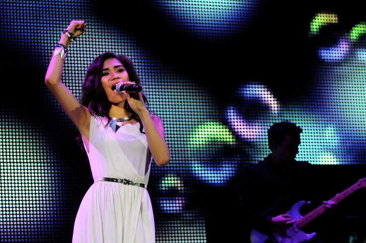 Jessica Sanchez performs during the