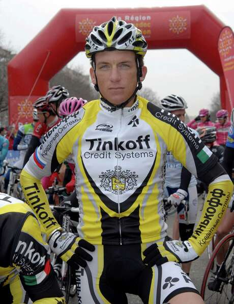"""FILE - This Feb. 8, 2007 file photo shows  U.S. cyclist Tyler Hamilton before the start of the second stage of Etoile de Besseges race between Nimes and Saint-Ambroix, near Nimes, France. Hamilton's tell-all book about Lance Armstrong and doping in cycling will be released two weeks earlier than originally planned. """"The Secret Race: Inside the Hidden World of the Tour de France: Doping, Cover-ups, and Winning at All Costs,"""" is now scheduled for release Sept. 5.  (AP Photo/Claude Paris) Photo: CLAUDE PARIS / AP"""