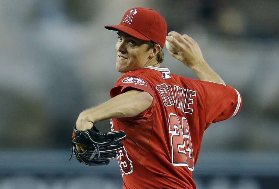 Zack Greinke yielded five hits over seven strong innings. Photo: Chris Carlson, Associated Press