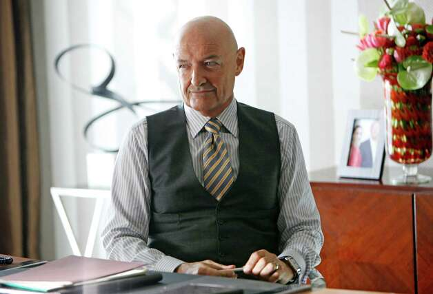 "This image released by ABC shows Terry O'Quinn as Gavin Doran in a scene from the ABC series ""666 Park Avenue, "" premiering Sunday, Sept. 30 at 9 p.m. on ABC. (AP Photo/ABC, Patrick Harbron) Photo: BE, HOEP / American Broadcasting Companies,"