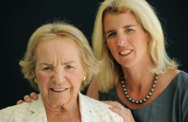 "Ethel Kennedy, left, subject of the HBO documentary ""Ethel, "" poses for a portrait with her daughter Rory Kennedy, the director of the film, Wednesday, Aug. 1, 2012 in Beverly Hills, Calif. Ethel Kennedy and her daughter, Rory, spoke to the Television Critics Association on Wednesday about Rory Kennedy s documentary  Ethel,   which will air Oct. 18 on HBO. (Photo by Chris Pizzello/Invision/AP) Photo: AP, INVL / Invision"