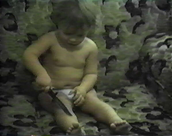"""Family Nightmare,"" a video by Dustin Guy Defa of New York City, will be on view in ""VHS: The Exhibition"" at Franklin Street Works in Stamford. Photo: Contributed Photo"