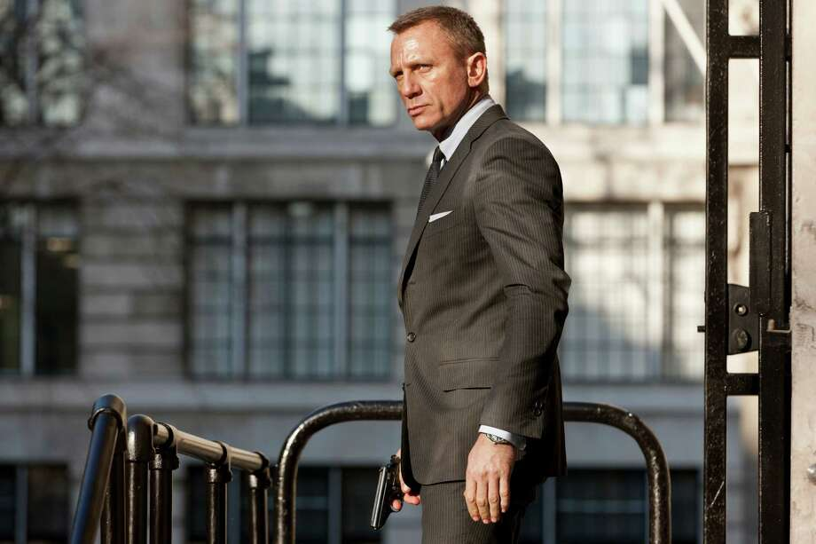 """Daniel Craig, the latest James Bond, will star in the latest film """"Skyfall"""", which will be No. 23 in the franchise.  Photo: Francois Duhamel / Skyfall ©2011 Danjaq, LLC, United Artists Corporation, Columbia Pictures Industries, Inc.  All rights reserved."""