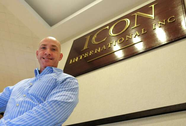 Executive Vice President of Operations Richard Upton poses for a photo at ICON International on Wednesday, July 18, 2012. Photo: Lindsay Niegelberg / Stamford Advocate
