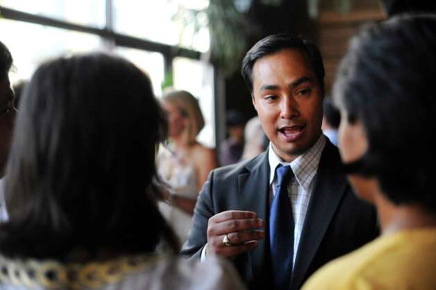 State Rep. Joaquin Castro attends a mixer in Austin on Wednesday, July 20, 2011. Photo: Billy Calzada, San Antonio Express-News / gcalzada@express-news.net