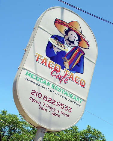 Taco Taco Cafe, located on Hildebrand, won reader's pick for best Northside restaurant. Laura McKenzie/Special to the Express-News Photo: LAURA MCKENZIE, SPECIAL TO THE EXPRESS-NEWS / SAN ANTONIO EXPRESS-NEWS