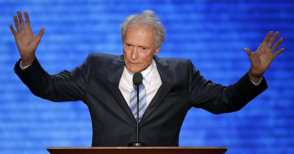 El actor Clint Eastwood durante su participación en la Convención Nacional Republicana en Tampa, Florida, el jueves 30 de agosto del 2012. (AP Foto/J. Scott Applewhite)