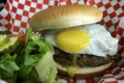 "Big'z, 2303 N. Loop 1604 W. and 10106 Texas 151: Big'z second location offers even more space for families to dine on burgers done the classic way or dirty, with a fried egg on top. Big'z Burgers was mentioned in the November 2006 issue of Food and Wine as part of their ""Where To Go Next"" column. www.bigz-burgerjoint.com"