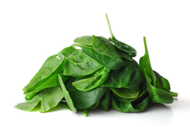 The nitrates in spinach help build muscle. Photo: Nikola Bilic / handout / stock agency