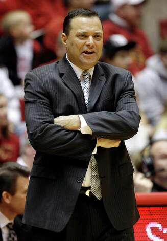 Texas Tech coach Billy Gillispie watches during a game last season.  Gillispie has been hospitalized for an undisclosed medical issue. Charlie Neibergall/Associated Press Photo: Charlie Neibergall, Associated Press / AP