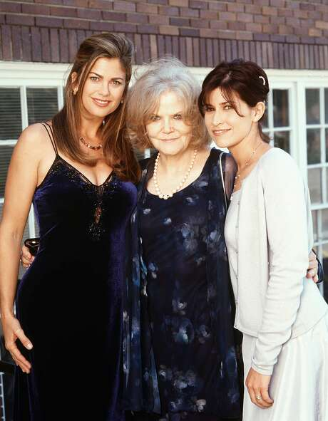 Eileen Brennan (center), with Kathy Ireland and Nancy McKeon Photo: File Photo / CBS